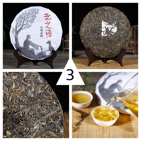 "2018 Yunnan Sourcing ""Spring Jinggu"" Raw Pu-erh Tea Sampler - Part 3"