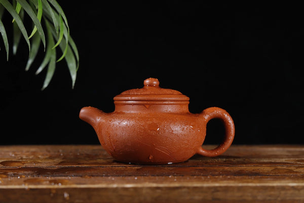 "Qing Shui Ni ""Dragon Relief Fang Gu"" Yixing Clay Teapot * 175ml"