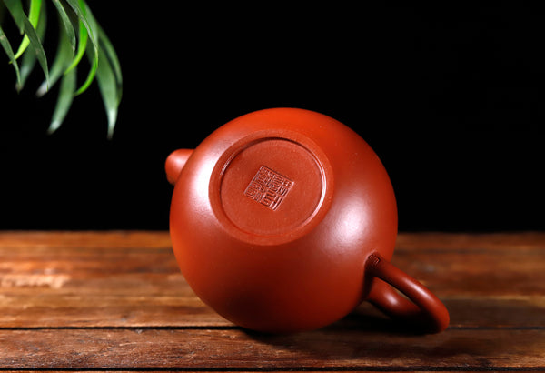 "Da Hong Pao Clay ""Yuan Zhu"" Yixing Teapot * 210ml"