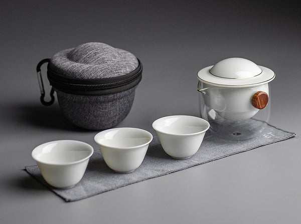 Easy Gaiwan with Automatic Infuser and Cups