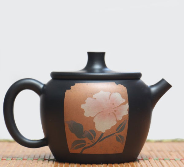 "Jian Shui Clay ""Flower"" Teapot by Li You Ye * 250ml"