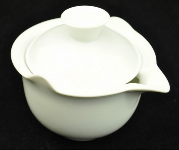 "White Porcelain ""Easy Gaiwan"" for Brewing Gong Fu Cha * 150ml"