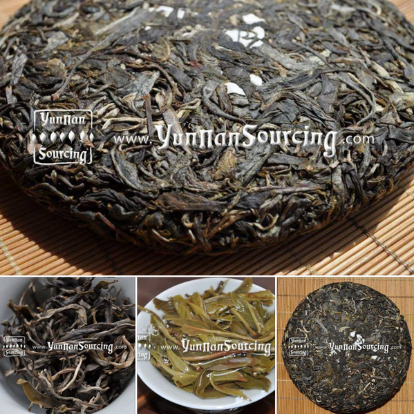 "Yunnan Sourcing Brand ""Bu Lang Mountain"" Raw Pu-erh Tea Sampler"