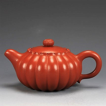 "Golden Zhu Ni Clay ""Jing Nang"" Yixing teapot * 130ml"
