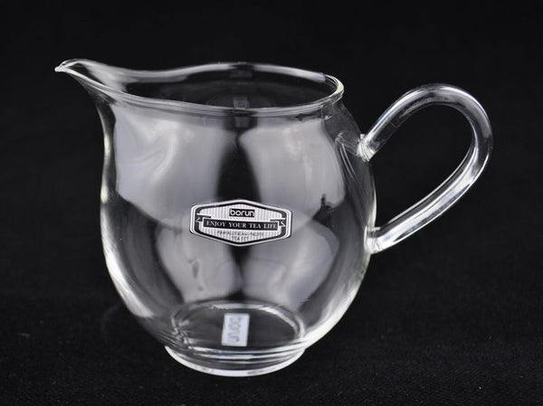 Borun D-01 Hand-Blown Glass Cha Hai for Gong Fu Cha * 300ml