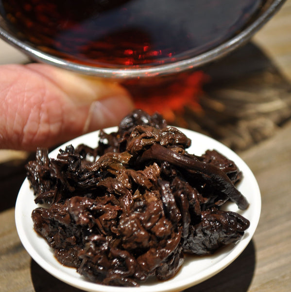 2018 Bu Lang Mountain Cha Tou Ripe Pu-erh Tea Nuggets