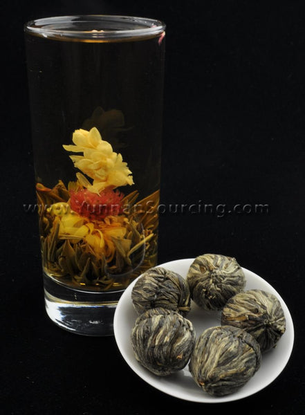 "Blooming Tea Balls ""Butterfly Flower"" Hand Crafted Flowering Tea"