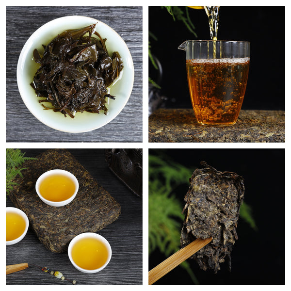 """Just Fu Cha"" Fu Zhuan Tea Sampler"