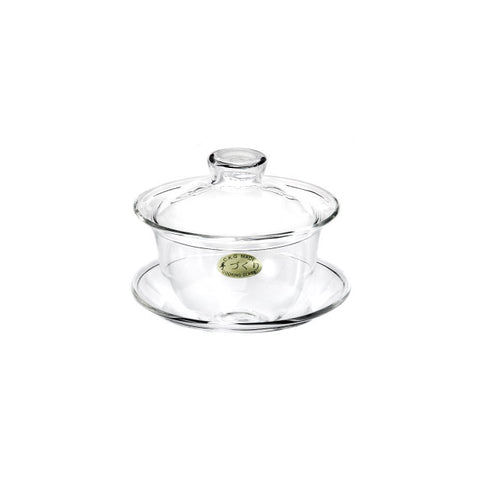 Heat-Tempered Clear Glass Gaiwan * 150 ml