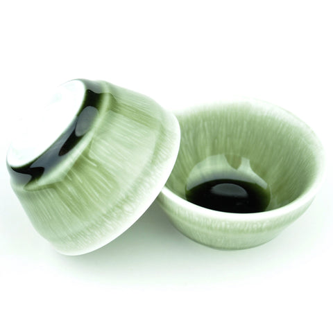 Green Plasma Cups Gaiwan for Gong Fu Tea * Set of 2