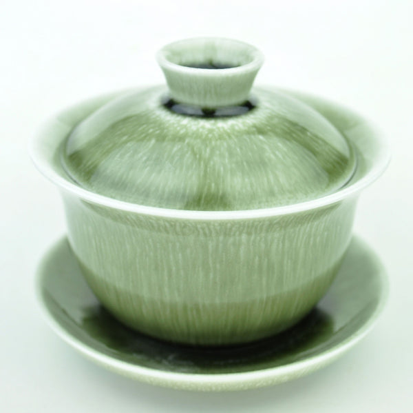 Green Plasma Ceramic Gaiwan for Gong Fu Tea 150ml