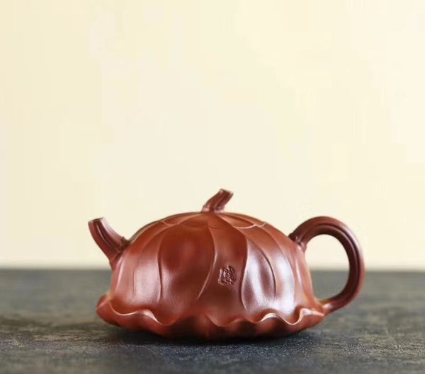 "Da Hong Pao Clay ""He Ye"" Yixing teapot * 220ml"