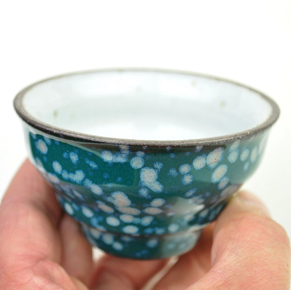 """Oceanic Experience"" Glazed Ceramic Cup * 110ml"