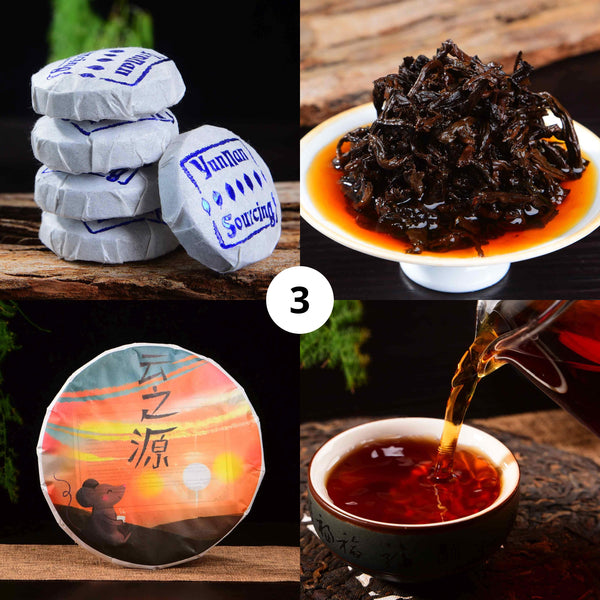 Yunnan Sourcing Brand Ripe Pu-erh Tea Sampler for 2020 - Part 3