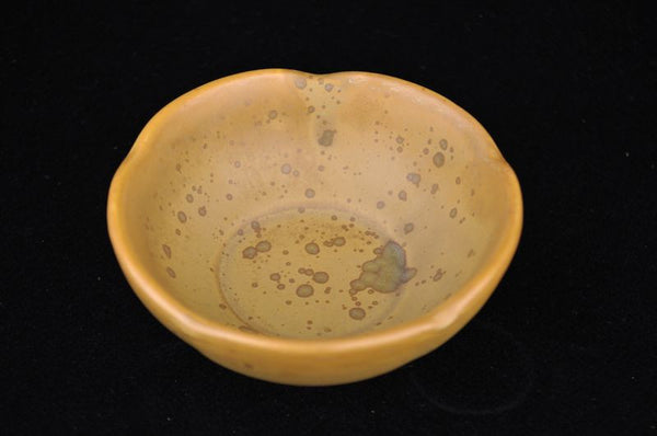 "Glazed Ceramic Tea Cup ""Patina"" Bowl * 80ml"