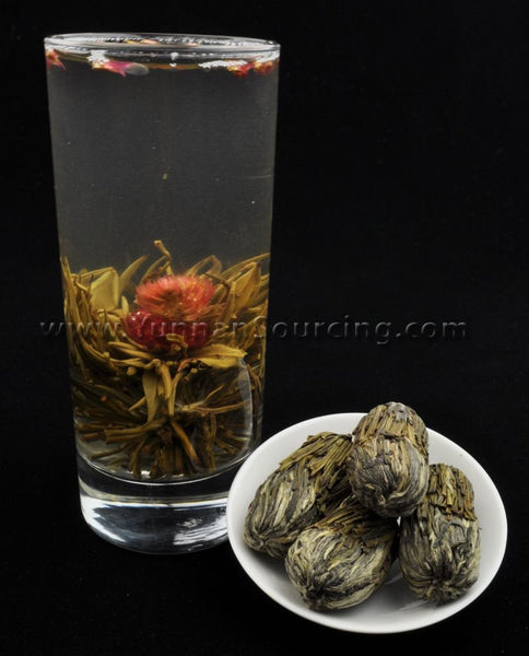 "Blooming Tea Balls ""Peach of Immortality"" Hand Crafted Flowering Tea"