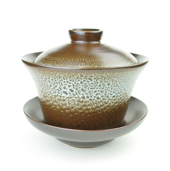 Rust Gradient Gaiwan for Gong Fu Tea 200ml