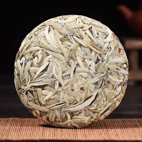 Jinggu Sun-Dried Silver Needles White Pu-erh Tea Cake * Spring 2019