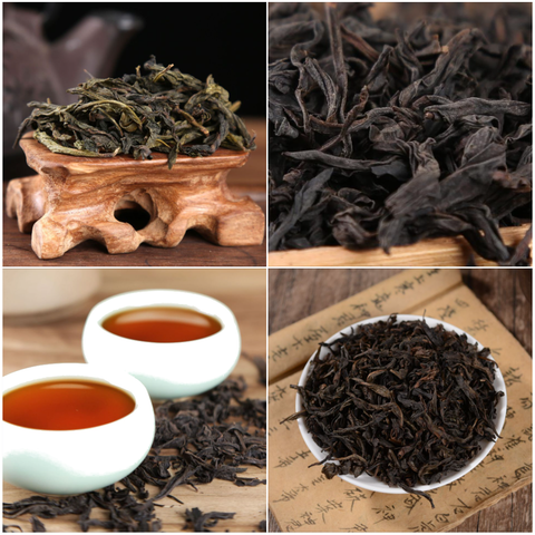 Introduction to Wu Yi Rock Oolong Tea Sampler