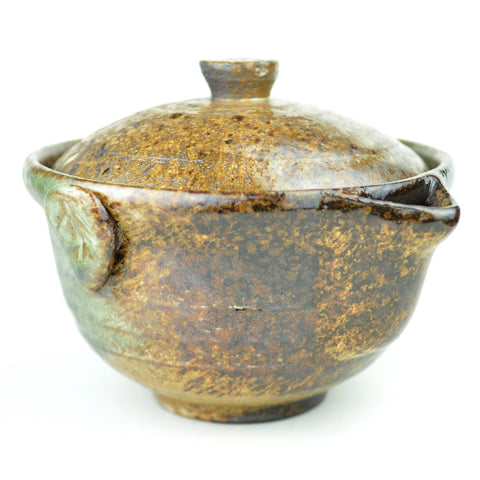 Wood Fired Glazed Yixing Clay Easy Gaiwan 150ml