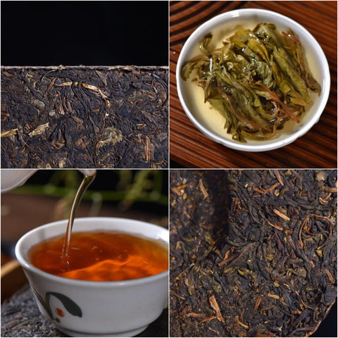 "Wild Tree Purple ""Ye Sheng"" Raw Pu-erh Tea Sampler"