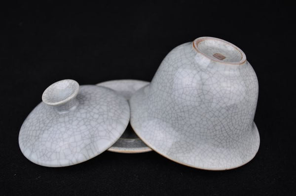Ge Yao Celadon Grey Gaiwan for Gong Fu Tea Brewing 160ml