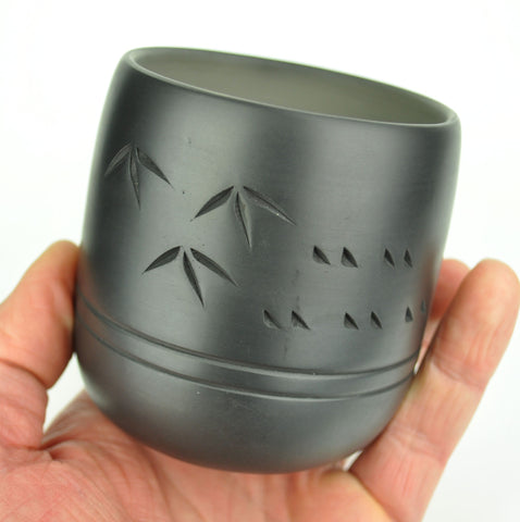 Bamboo Charcoal Pottery Large Cup * 300ml