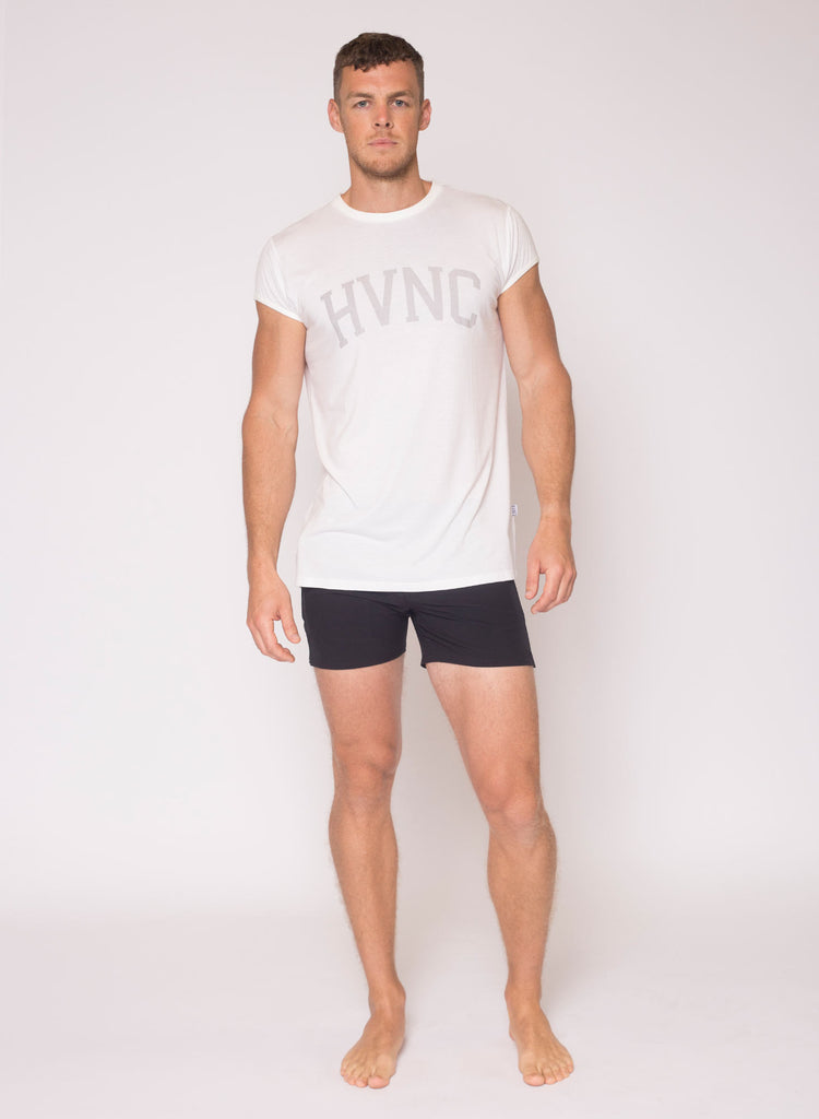 HVNC Cap Sleeve T-Shirt - White