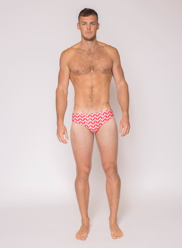 HVNC Sunset Lux Swim Brief