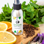 Essential Bug Blitz 100 ml | Vegan | Refillable - OmMade Organic Skincare Spray Bottle
