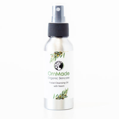 Facial Cleansing Oil | Vegan | Refillable - OmMade Organic Skincare