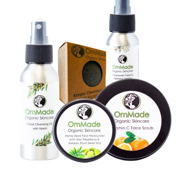 Skincare for Sensitive Skin Pack - OmMade Organic Skincare
