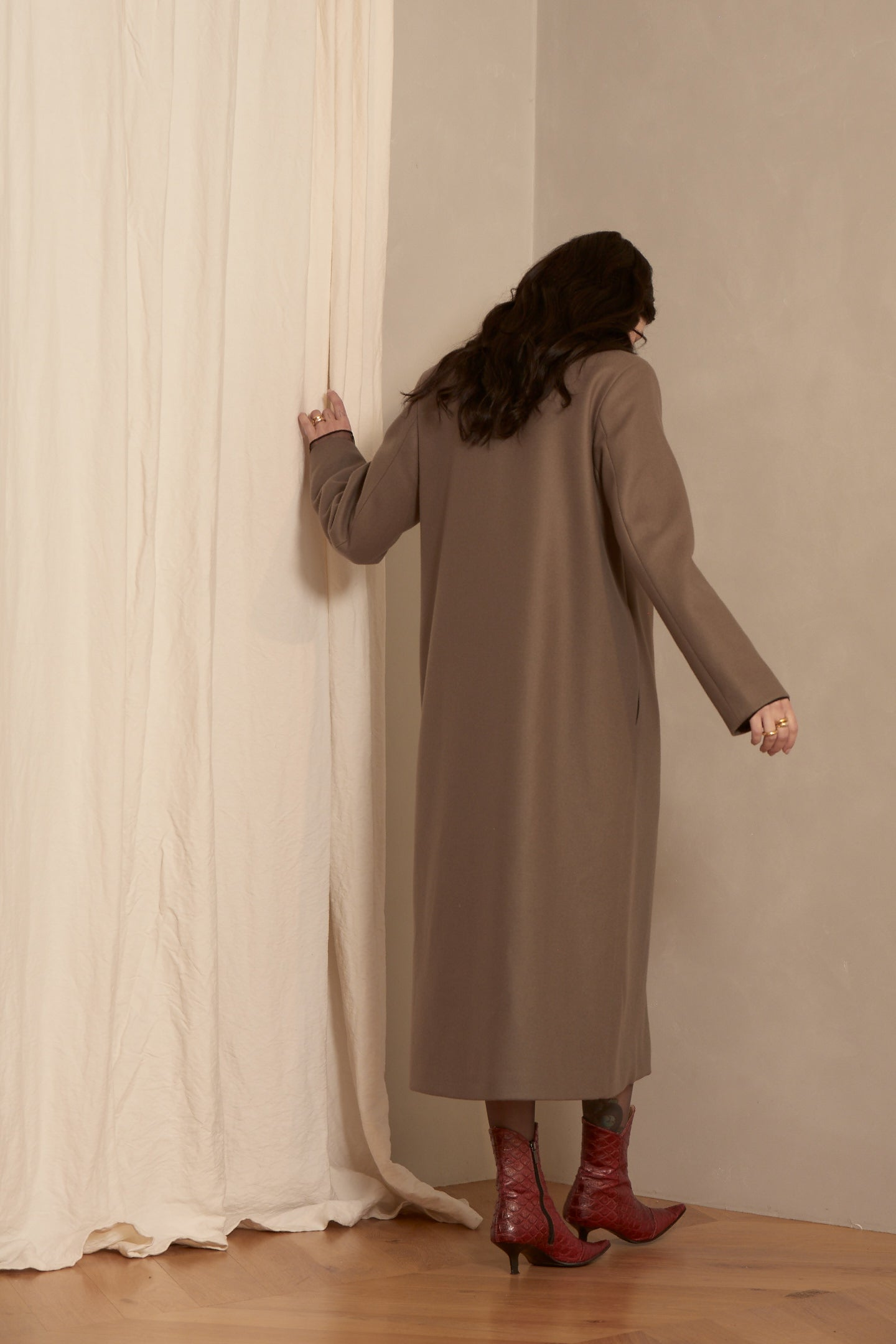 Milla Coat Olive *FINAL SALE