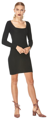 Kate Knit Dress Black