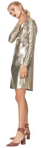 Lily Dress Gold