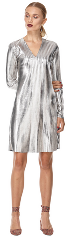 Lily Dress Silver