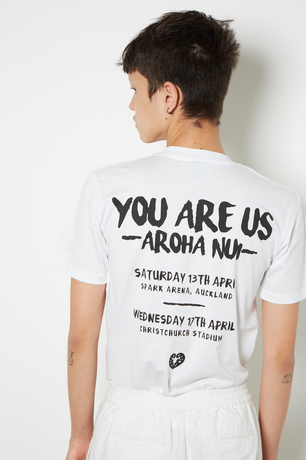 Aroha Nui to Our 50 Fallen Stars Tee *Limited Stock