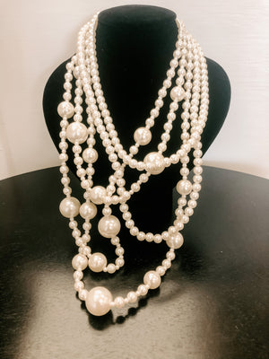 Solar Pearl Necklace