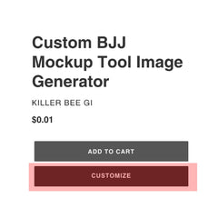 Customize Button For The Mockup Builder