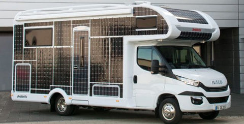 Fully Solar Powered RV