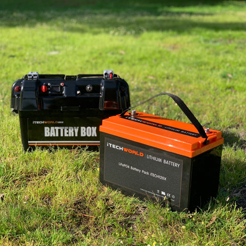 iTechworld Lithium Battery 120Ah Australian Company