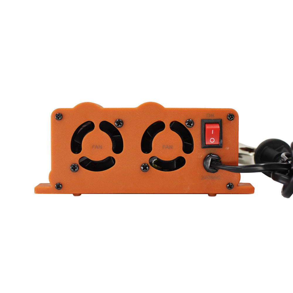 Lightweight 3 stage battery charger