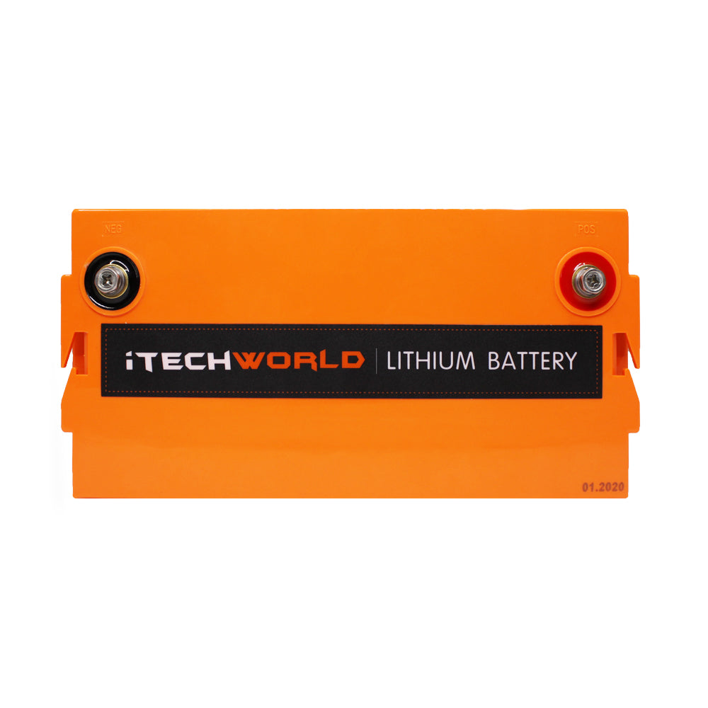 120Ah Lithium Battery Itechworld Waterproof Drop In Replacement Caravan Battery  High Discharge iTECH120X Best Lithium Battery Australian Made Safe Lithium secondary battery warranty prismatic cell