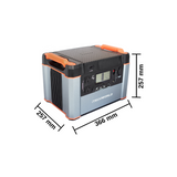 ITECH1000P Dimensions Lithium Power Station