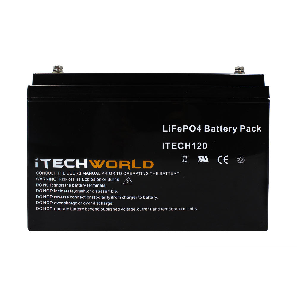 120Ah Lithium Battery Itechworld Drop In Replacement Caravan Battery