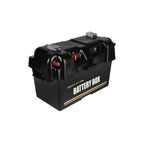 itechworld 12v battery box camping 4x4 caravan