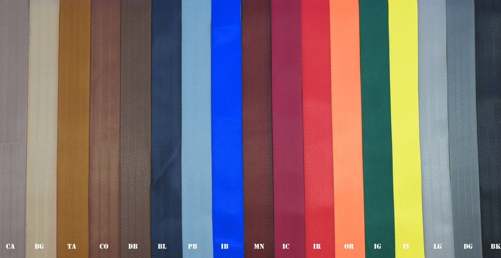 Seatbelt Colours