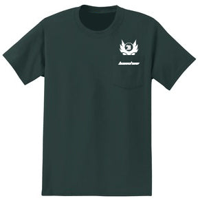 Banshee Pocket T-Shirt - Small - Green