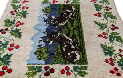 Tullu Over Dyed Kilim Rug 5'11'' x 6'11'' ft 180 x 210 cm