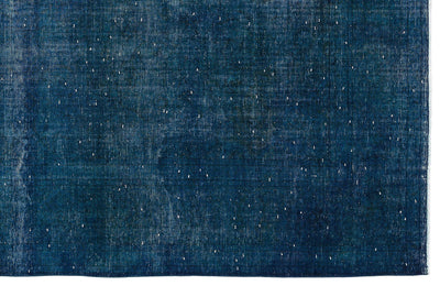 Turquoise  Over Dyed Vintage XLarge Rug 9'8'' x 13'2'' ft 294 x 402 cm